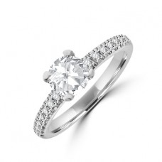 Platinum Solitaire Diamond