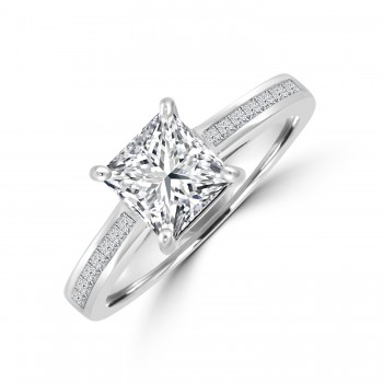 Platinum Princess GSi2 Diamond Ring