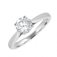 Platinum Solitaire FSi1 Diamond Solitaire Ring