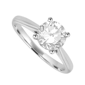 Platinum 1.01ct Diamond Solitaire Ring