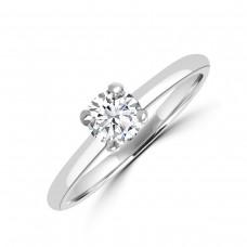 Platinum .40ct Brilliant DVS2 Diamond Solitaire Ring
