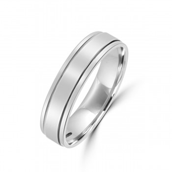 Platinum 5mm Wedding Ring