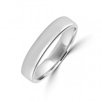 Platinum 4mm Polished Wedding Ring