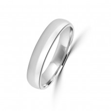 Platinum 4mm Polished Wedding Ring