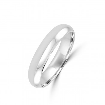 Platinum 5mm Polished Wedding Ring