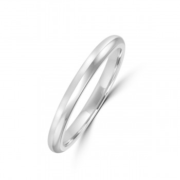 Platinum 2.5mm Round Wedding Ring