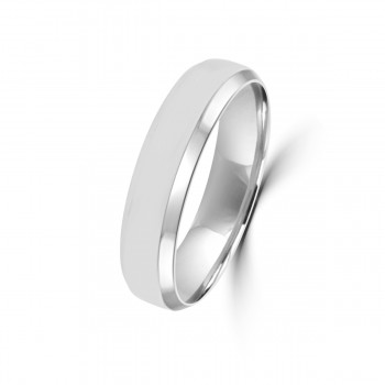18ct White Gold 5mm Wedding Ring