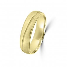 9ct Yellow Gold 6mm Wedding Ring