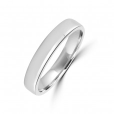 Palladium 950 Plain 4mm Wedding Ring