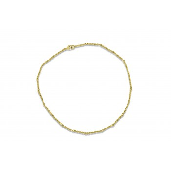 9ct Gold Fetter Spiral Chain