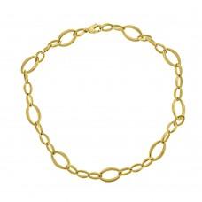 9ct Gold Fetter Link 17