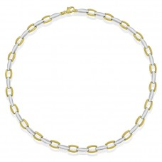 9ct Yellow & White Gold 17