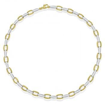 9ct Yellow & White Gold 17
