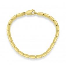 18ct Gold Cube Bracelet