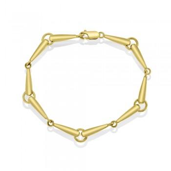 9ct Gold Club Bracelet