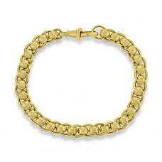 9ct Gold Handmade Rollerball Bracelet